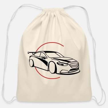Renner Car,Renner,Sportscar,Vehicle,V8 ✔ - Cotton Drawstring Bag