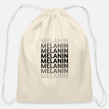 Shades of Melanin - Cotton Drawstring Bag