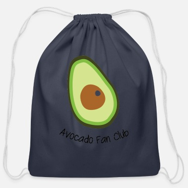 Fan Club Avocado Fan Club - Cotton Drawstring Bag