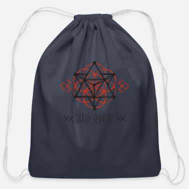 Sacred Geometry Sacred Geometry - Cotton Drawstring Bag