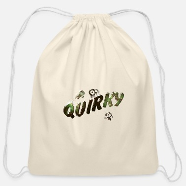 Quirky quirky 2 J - Cotton Drawstring Bag