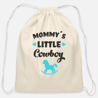 Little Mommy´s Little Cowboy Horse Rider Horses - Cotton Drawstring Bag