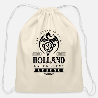 Tom Holland HOLLAND - Cotton Drawstring Bag