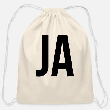 Ja JA - Cotton Drawstring Bag