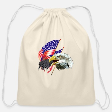 Eagles Eagle - Cotton Drawstring Bag