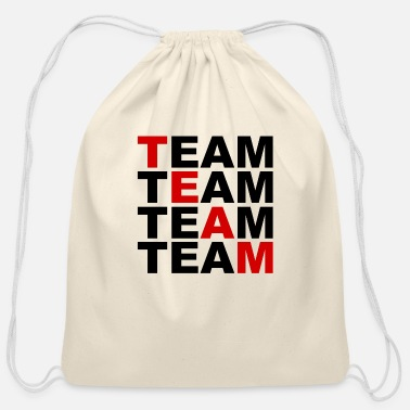 Team Spirit TEAM - Sport - Friends - Team Spirit - Cotton Drawstring Bag