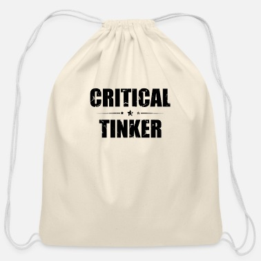 Tinker Critical Tinker - Cotton Drawstring Bag