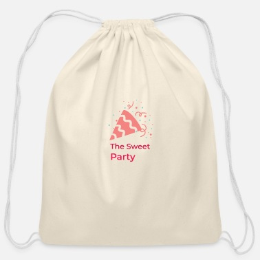 Bday The Sweet Bday Party - Cotton Drawstring Bag
