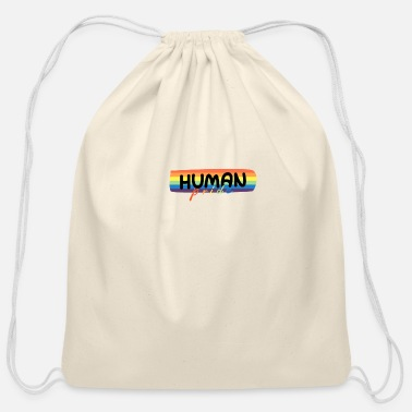 Same Sex Human pride - Cotton Drawstring Bag