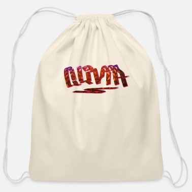 Birth Name Olivia Name Design - Cotton Drawstring Bag