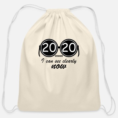 2020 2020 vision - I can see clearly now - Cotton Drawstring Bag