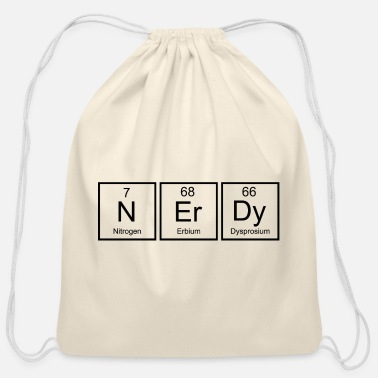 Nerdy Nerdy - Cotton Drawstring Bag