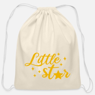 Little Stars LITTLE STAR - Cotton Drawstring Bag