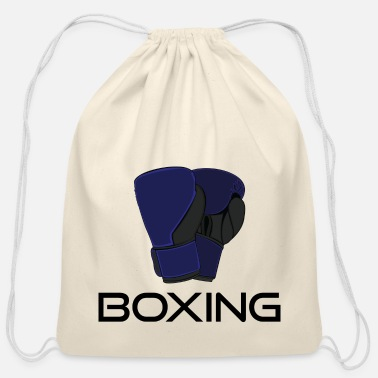 Match Boxing - Cotton Drawstring Bag