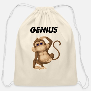 Genius genius - Cotton Drawstring Bag