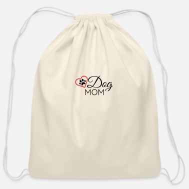 14th Dog mom - Cotton Drawstring Bag