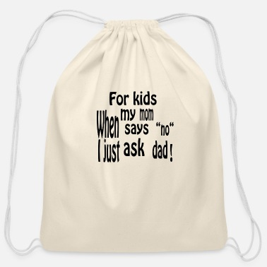 Children Children children - Cotton Drawstring Bag