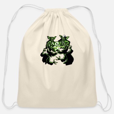 Return Return of the Mogwai - Cotton Drawstring Bag