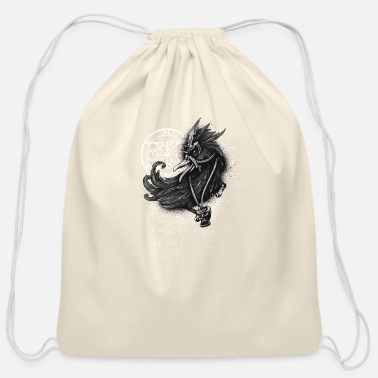 Medieval Medieval Bird - Cotton Drawstring Bag