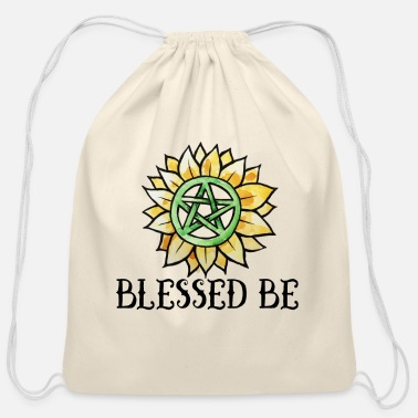 Witchcraft Blessed Be - Cotton Drawstring Bag