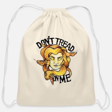 Tread Don't tread on me - Cotton Drawstring Bag
