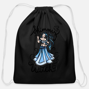 Witch Shimmy Witch - Cotton Drawstring Bag