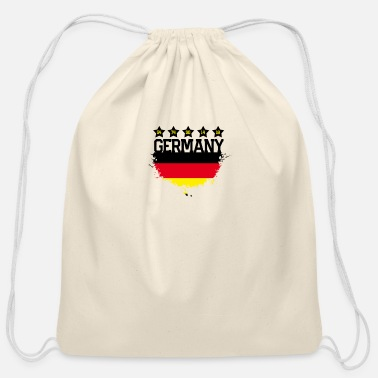 Germany Germany - Cotton Drawstring Bag