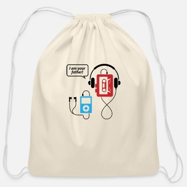 Mp3 MP3 Player, I Am Your Father! - Cotton Drawstring Bag