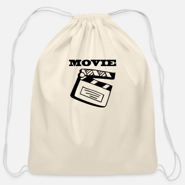 Movie Movie - Cotton Drawstring Bag
