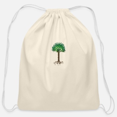 Start Of The Start of Spring - Cotton Drawstring Bag