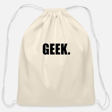 Geek GEEK - Cotton Drawstring Bag
