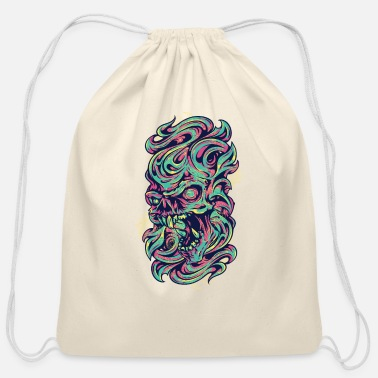 Medieval Medieval Monster - Cotton Drawstring Bag