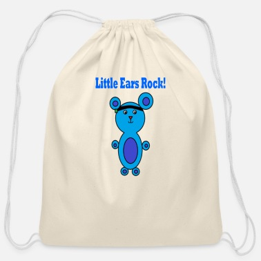Microtia Right Ear boy Microtia - Cotton Drawstring Bag