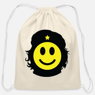Revolutionary Revolutionary smiley - Cotton Drawstring Bag