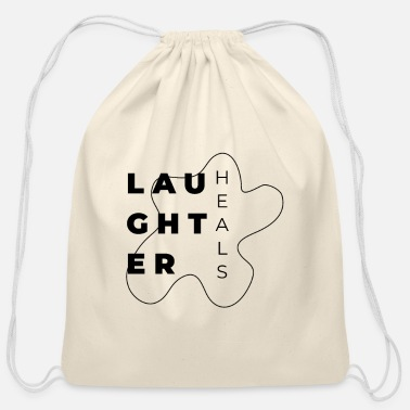 Laughter Laughter - Cotton Drawstring Bag