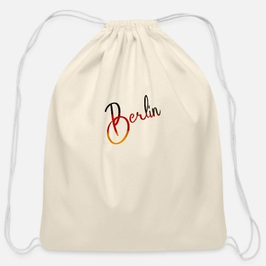 Koepenick Berlin - Deutschland - Germany - National Flag - Cotton Drawstring Bag