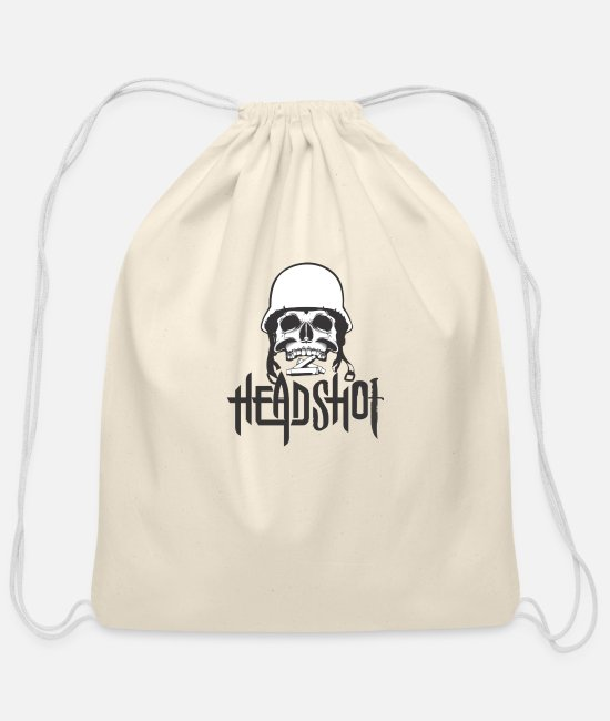 Ball Bags & Backpacks - Headhot - Cotton Drawstring Bag natural