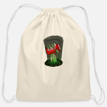 Grave From the grave - Cotton Drawstring Bag