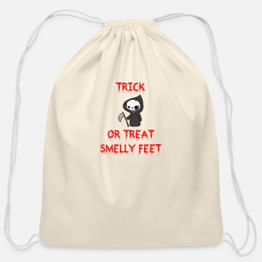Reaper Trick or Treat Smelly Feet - Cotton Drawstring Bag