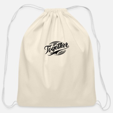 Together Together - Cotton Drawstring Bag