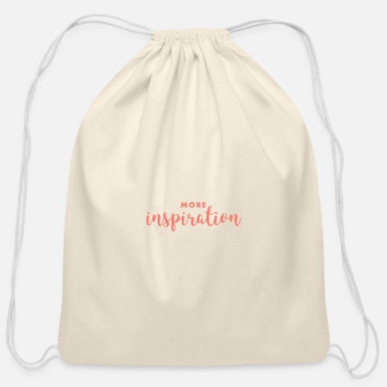 Mood Bags & Backpacks - Inspiration - Cotton Drawstring Bag natural
