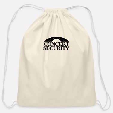 Concert Concert Security - Cotton Drawstring Bag