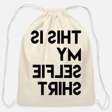 Sayings Sayings - Cotton Drawstring Bag