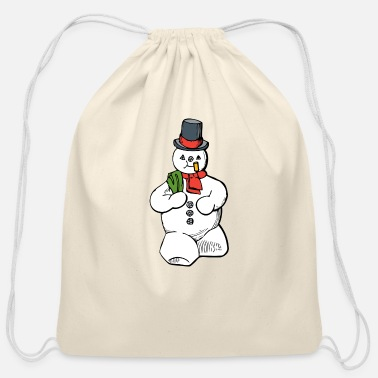 christma s819 - Cotton Drawstring Bag