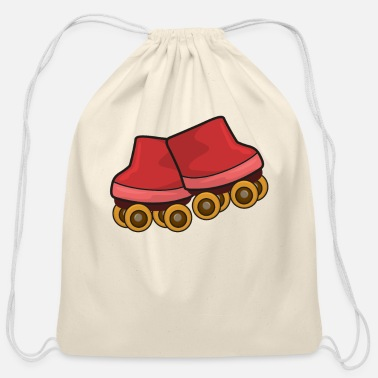 Roller Skate Roller Skates Roller Skating - Cotton Drawstring Bag