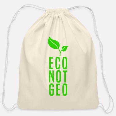 Eco ECO NOT GEO - Cotton Drawstring Bag