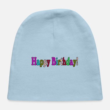 Bday HAPPY BDAY - Baby Cap