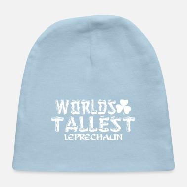 Worlds Tallest Leprechaun Saint Patricks Day - Baby Cap 63033a5bd37c