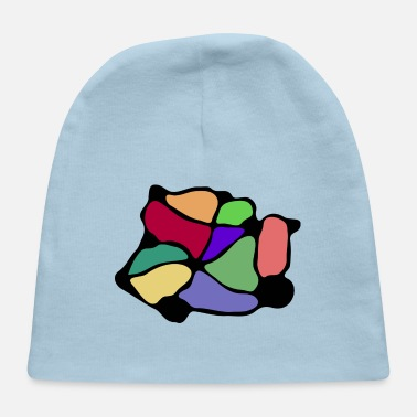Net Colorful Net - Baby Cap