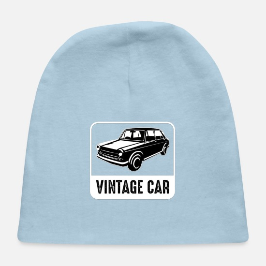 Funny Crossfit Baby Caps - Car Badge and Logo good for print funny - Baby Cap light blue